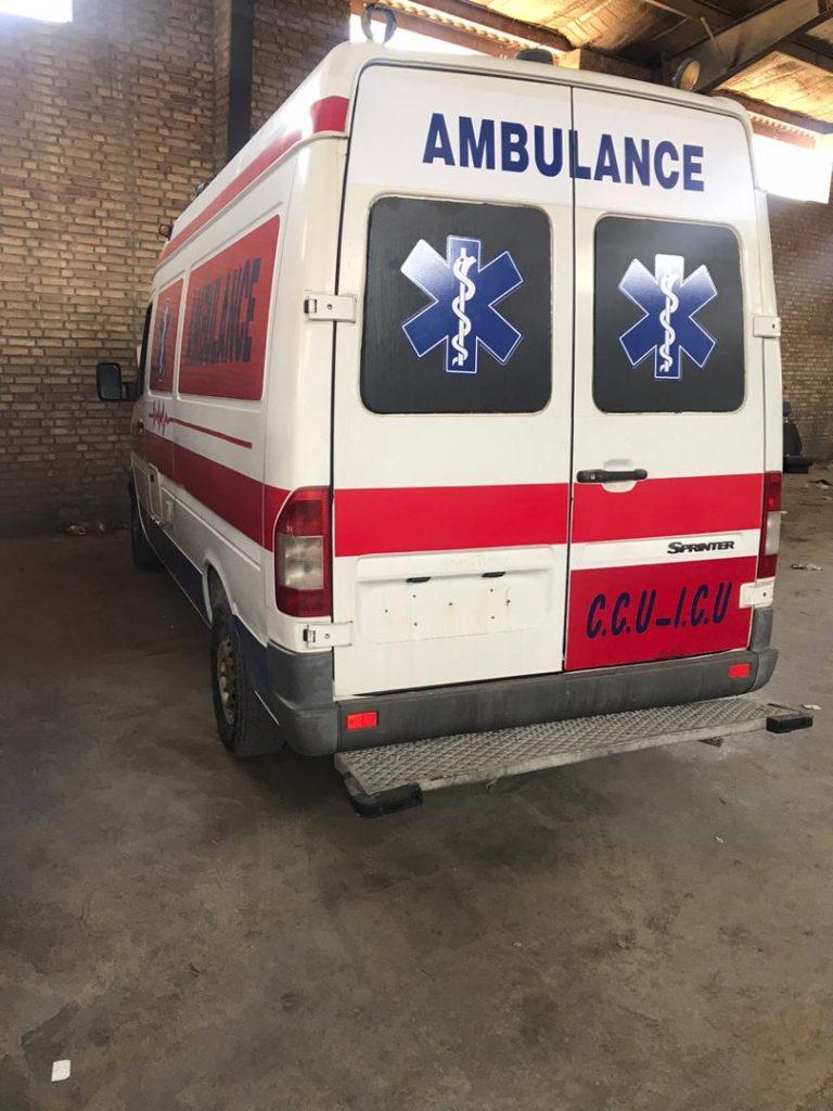 آمبولانس بنز اسپرینتر