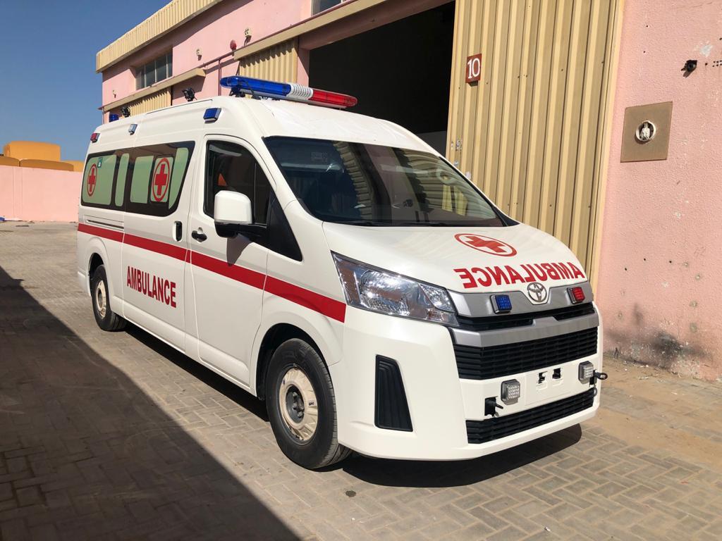 آمبولانس تویوتا هایس مدل 2020