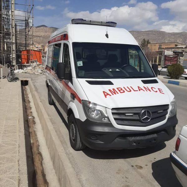 آمبولانس بنز اسپرینتر 2016